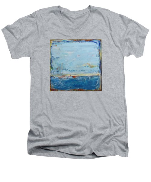 Easy Peaceful Feeling Men's V-Neck T-Shirt