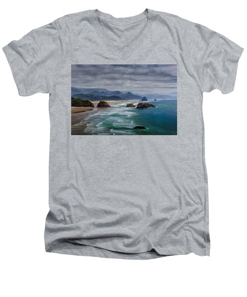 Ecola Viewpoint Men's V-Neck T-Shirt