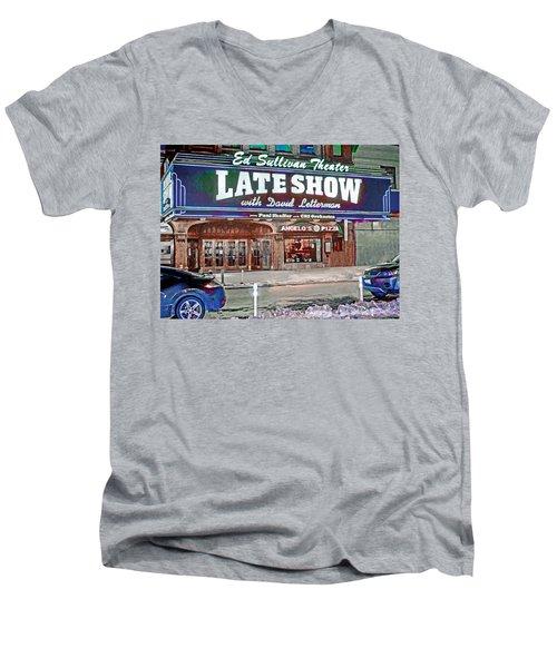 Ed Sullivan Theater Men's V-Neck T-Shirt