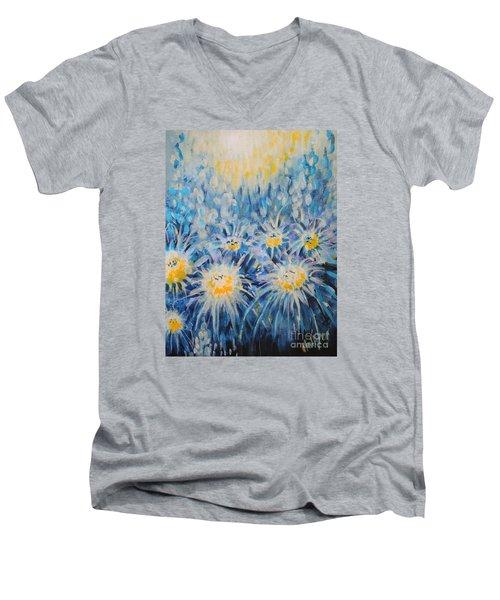 Edentian Garden Men's V-Neck T-Shirt