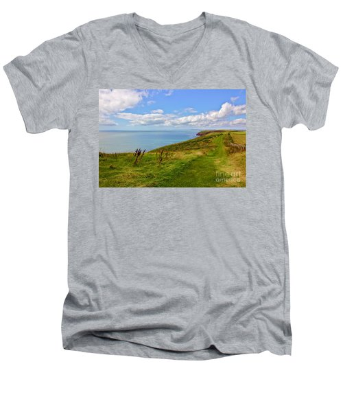 Edge Of The World Men's V-Neck T-Shirt