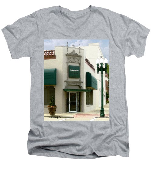 Edwardjones Men's V-Neck T-Shirt