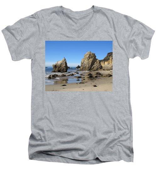 El Matador Beach Men's V-Neck T-Shirt
