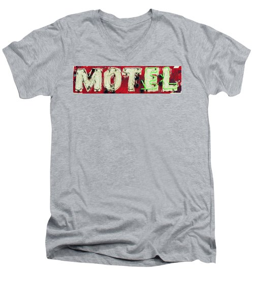 El Motel Men's V-Neck T-Shirt