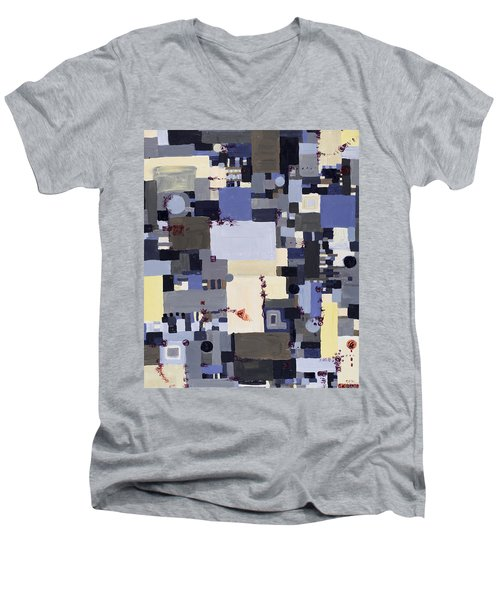 Elastic Dialog Men's V-Neck T-Shirt