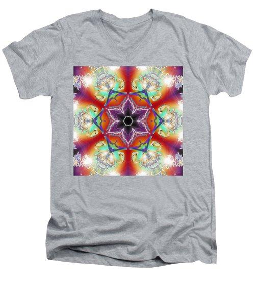 Electric Enlightenment Men's V-Neck T-Shirt