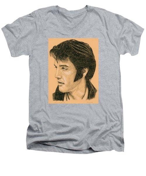 Elvis Las Vegas 69 Men's V-Neck T-Shirt