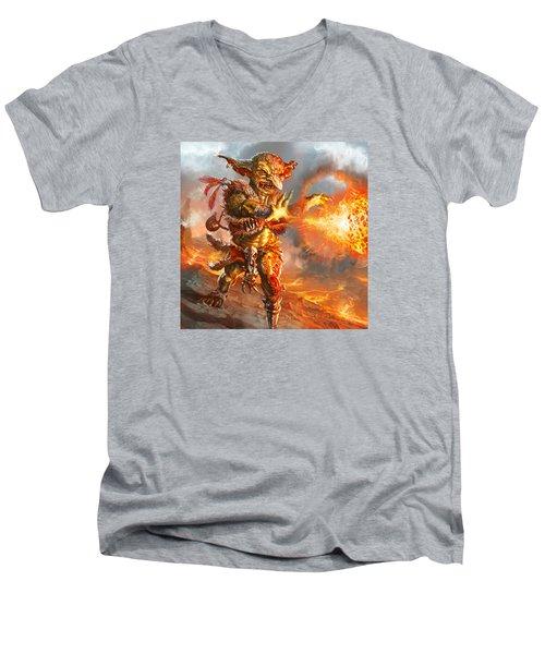 Embermage Goblin Men's V-Neck T-Shirt