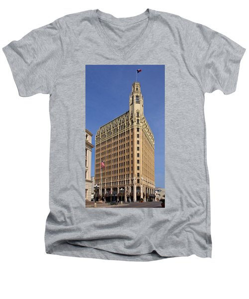 Emily Morgan Hotel Men's V-Neck T-Shirt