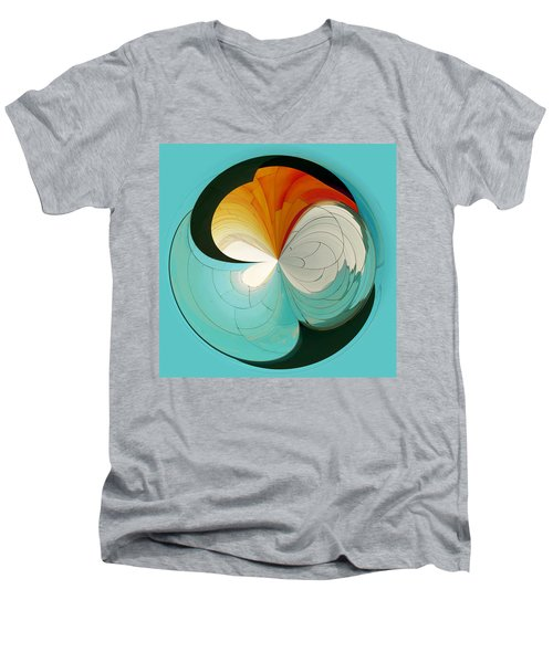 Men's V-Neck T-Shirt featuring the photograph Emp Inspired by Sonya Lang