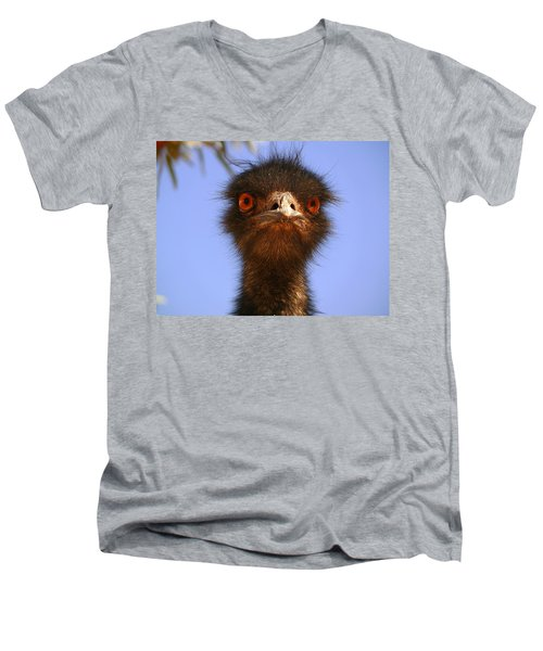 Emu Upfront Men's V-Neck T-Shirt