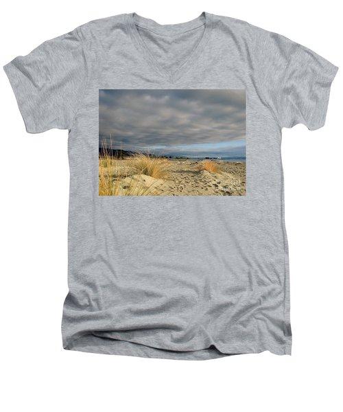 Enclosed In Between Men's V-Neck T-Shirt