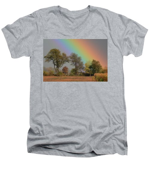 End Of The Rainbow Men's V-Neck T-Shirt