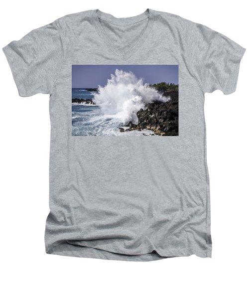 End Of The World Explosion Men's V-Neck T-Shirt