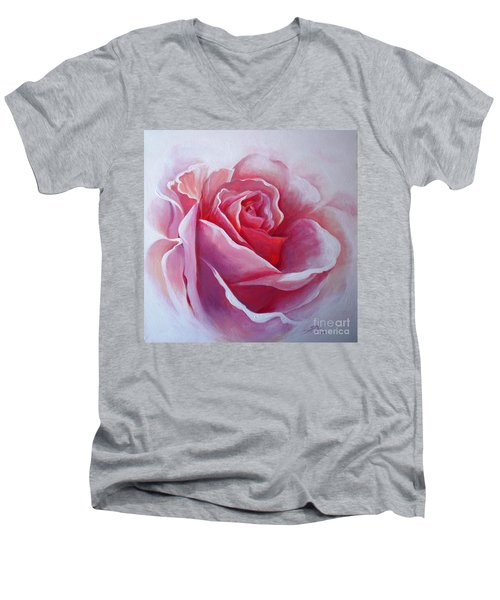 English Rose Men's V-Neck T-Shirt