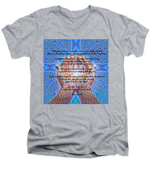 Enoch 42 Men's V-Neck T-Shirt