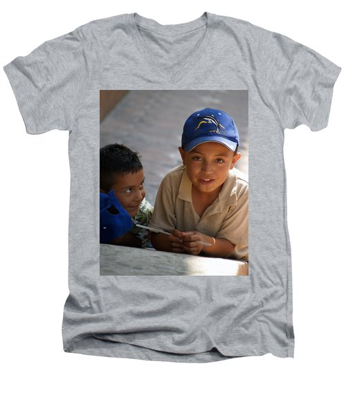 Ensenada Boys 07 Men's V-Neck T-Shirt
