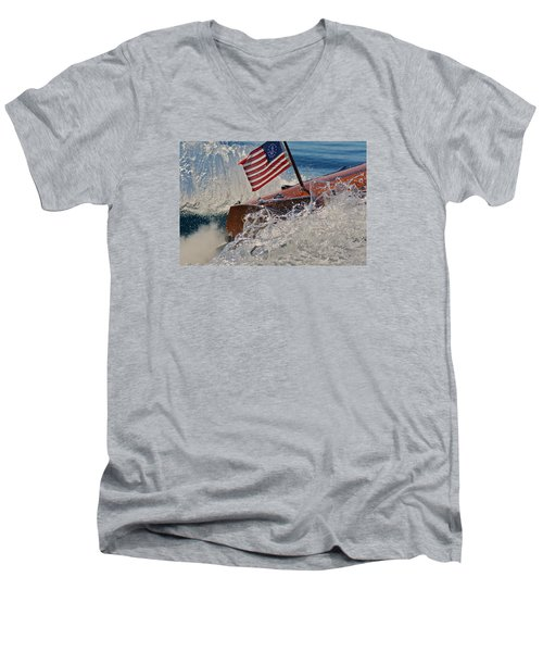 Noble Men's V-Neck T-Shirt