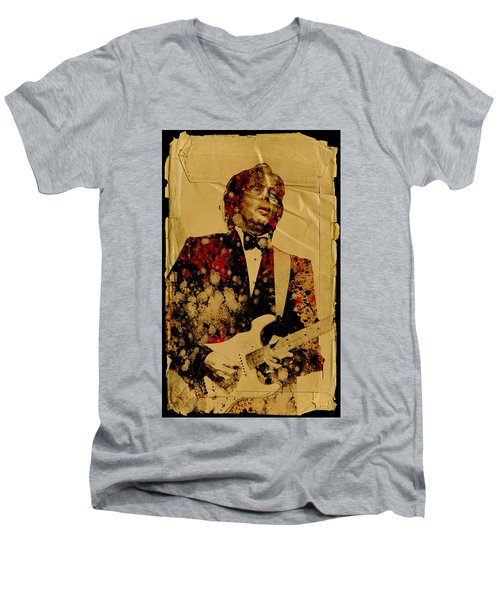 Eric Clapton 2 Men's V-Neck T-Shirt