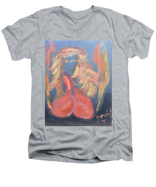 Eros Angel Men's V-Neck T-Shirt
