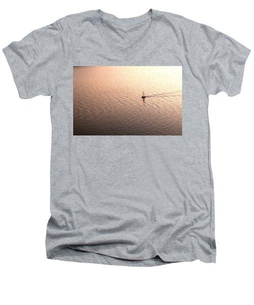 Escape Men's V-Neck T-Shirt by Lana Enderle