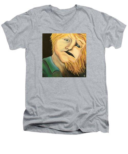 Escaping The Inner Beast Men's V-Neck T-Shirt