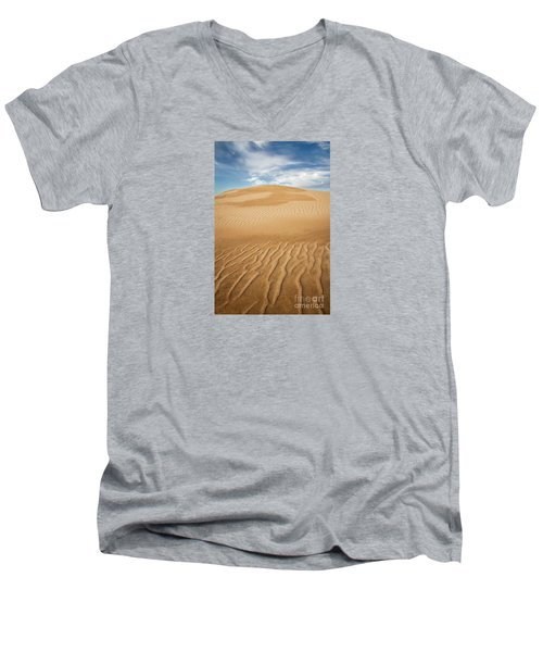 Eternity Men's V-Neck T-Shirt by Alice Cahill