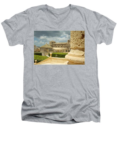 Even Out Of Focus There Is Beauty Men's V-Neck T-Shirt