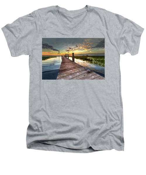 Evening Dock Men's V-Neck T-Shirt