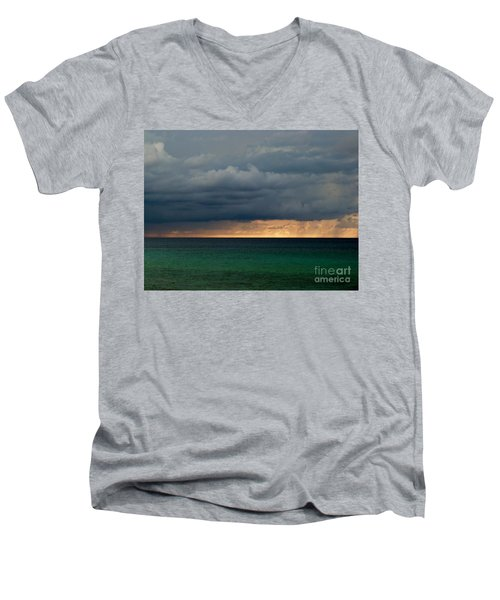 Evening Shadows Men's V-Neck T-Shirt