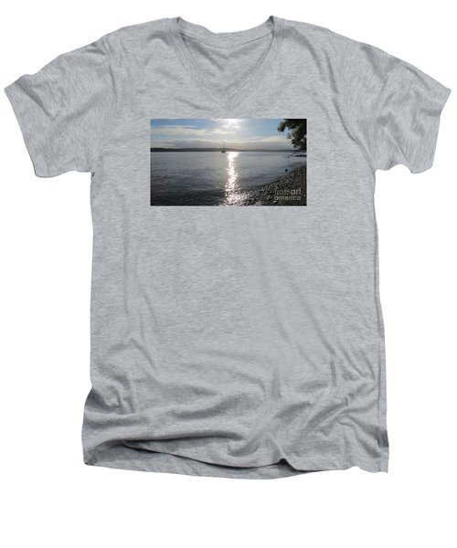 Evening Sunset Men's V-Neck T-Shirt