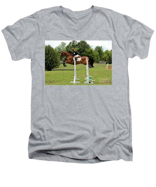 Eventing Jumper Men's V-Neck T-Shirt
