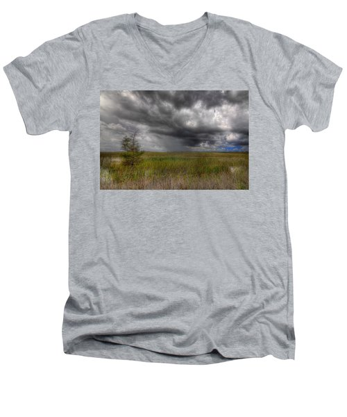Everglades Storm Men's V-Neck T-Shirt