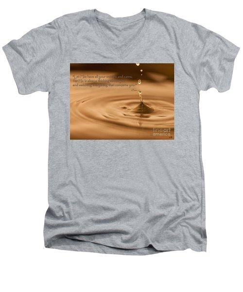 Every Drop Men's V-Neck T-Shirt