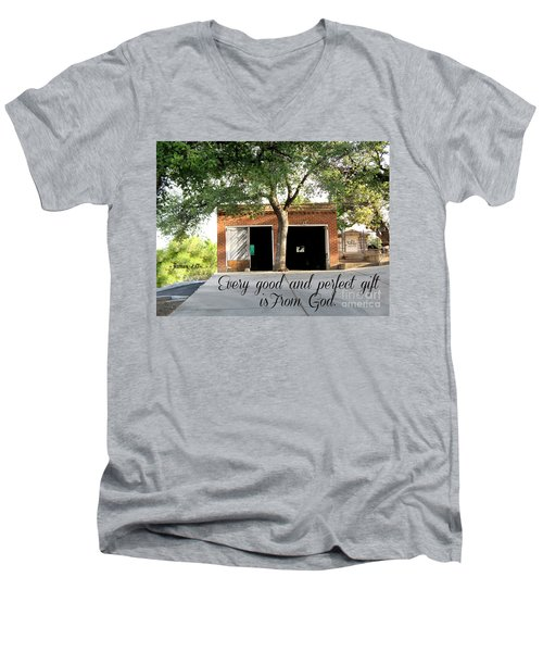 Every Good And Perfect Gift Men's V-Neck T-Shirt