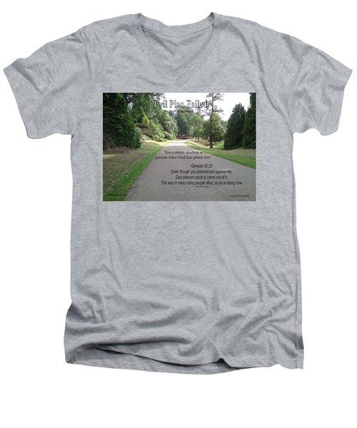 Evil Plan Failed Men's V-Neck T-Shirt