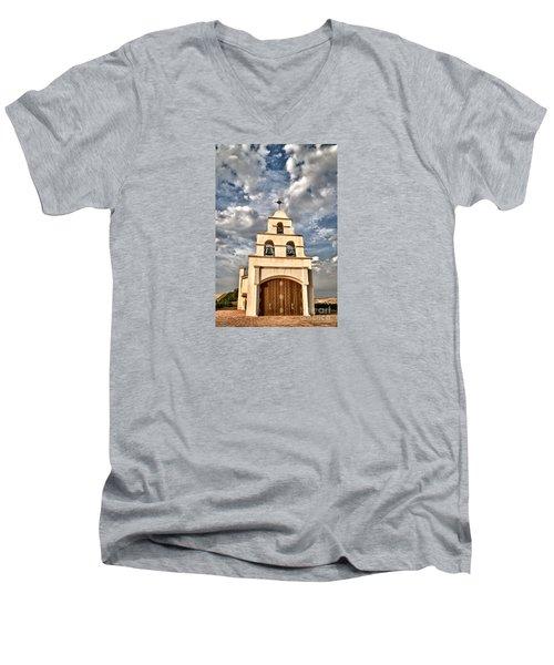 Exaltation Men's V-Neck T-Shirt by Alice Cahill