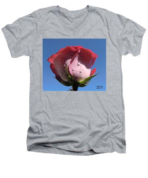 Excellence Centered  Men's V-Neck T-Shirt