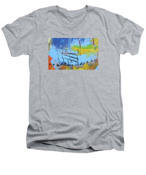 Excerp 1 From Joie Men's V-Neck T-Shirt