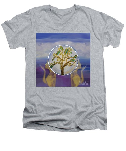 Exploring Men's V-Neck T-Shirt