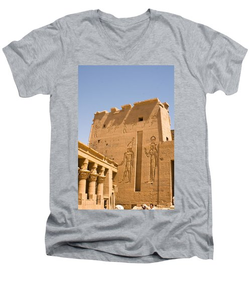Exterior Wall Art Men's V-Neck T-Shirt