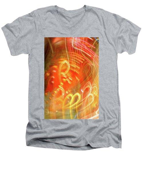 Extra Ball Time Men's V-Neck T-Shirt