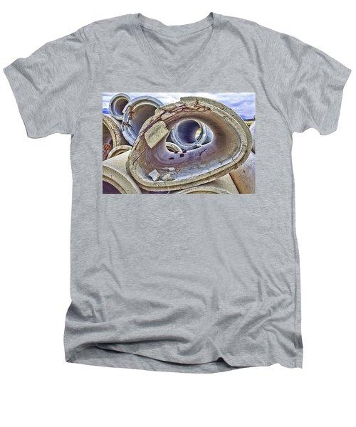 Eye Of The Saur 2 Men's V-Neck T-Shirt