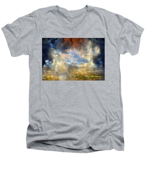 Eye Of The Storm  - Abstract Realism Men's V-Neck T-Shirt