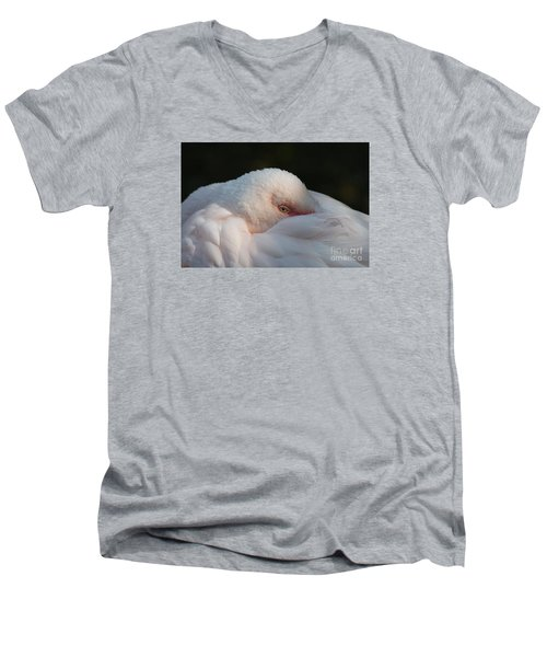 Eye On You Men's V-Neck T-Shirt by Judy Whitton