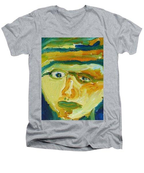 Face Eight Men's V-Neck T-Shirt