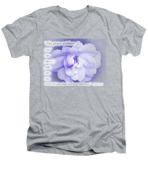 Fading Beauty Men's V-Neck T-Shirt by Terry Wallace