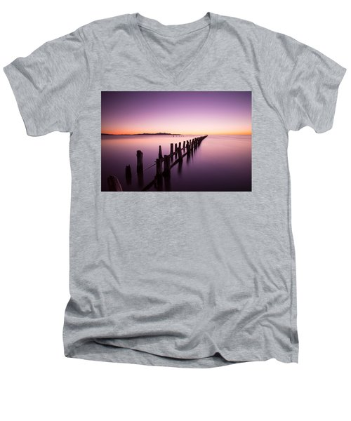 Fading Men's V-Neck T-Shirt