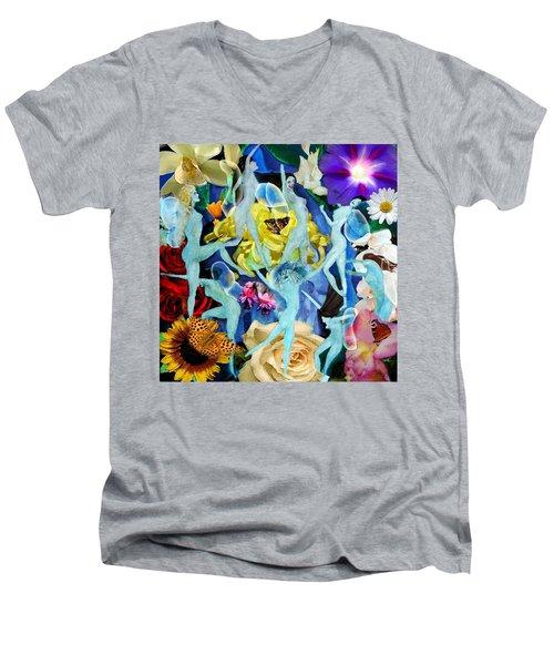 Fairy Dance Men's V-Neck T-Shirt