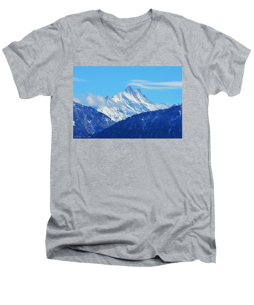 Fairy Tale In Alps Men's V-Neck T-Shirt